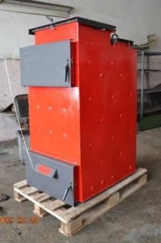 """Твердотопливный котел длительного горения фронтальная загрузка топлива Energy Wood """"Люкс"""" 35 кВт, фото 2"""