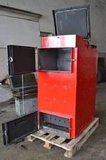 """Твердотопливный котел длительного горения фронтальная загрузка топлива Energy Wood """"Люкс"""" 35 кВт, фото 3"""