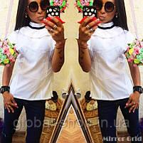 Блузка женская РАСПРОДАЖА  Мод.0363  ФОТО РЕАЛ! ,Размеры - 42,44,46,48 , фото 2