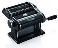 Marcato Atlas 150 Nero ручная тестораскатка-машинка для изготовления домашней лапши и раскатки теста для дома