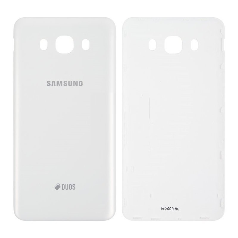 Задня кришка для смартфону Samsung J710F, J710FN, J710H, J710M Galaxy J7 (2016), біла
