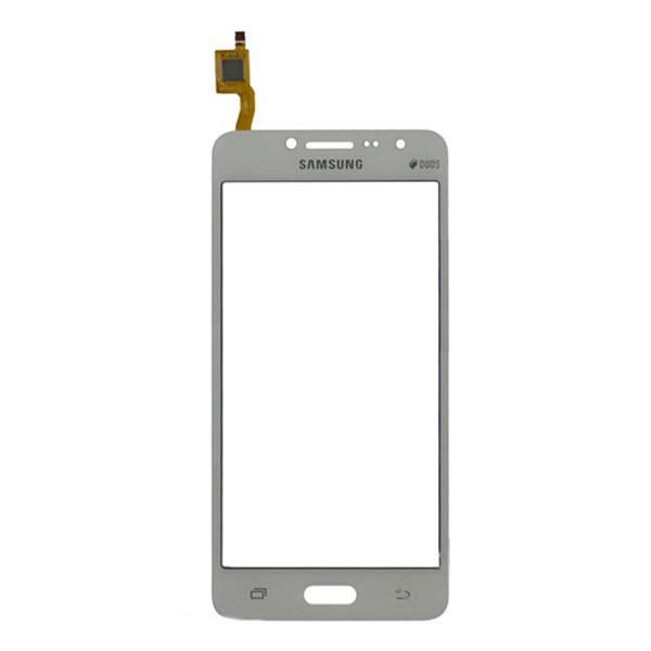 Сенсорний екран для смартфону Samsung G532 Galaxy J2 Prime, тачскрін білий