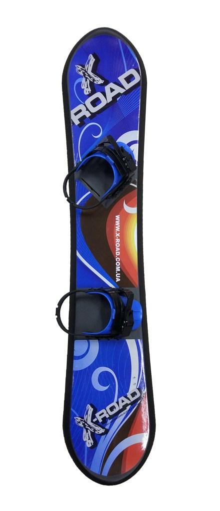 24ca9d56fb5d Сноуборд детский 147 см пластиковый с креплениями X-Road 71101-147, 147 см
