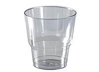 Стакан стекловидный 200мл 25шт прозрачный