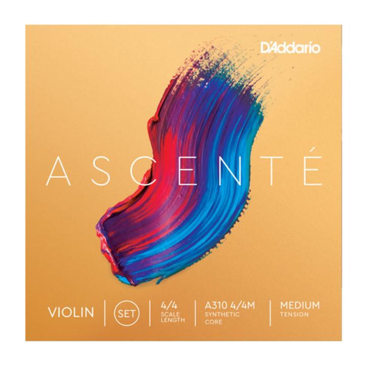 Струна Соль (G) для 4/4 скрипки  D`ADDARIO A314 4/4M Ascenté Violin String G 4/4M