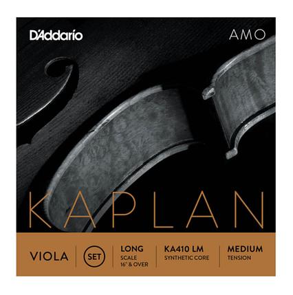 Струны среднего натяжения для 4/4 альта D`ADDARIO KA410 4/4LM KAPLAN AMO VIOLA 4/4 MEDIUM, LONG SCALE, фото 2