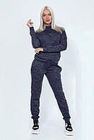 Молодежный модный спортивный костюм 40218 (42–46р) в расцветках