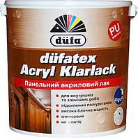 Панельний акриловий лак Düfatex Acryl Klarlack 0,75 л