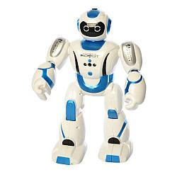 Робот на радиоуправлении белый 601-1