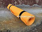 Коврик для йоги и фитнеса 5мм, оранжевый, фото 3