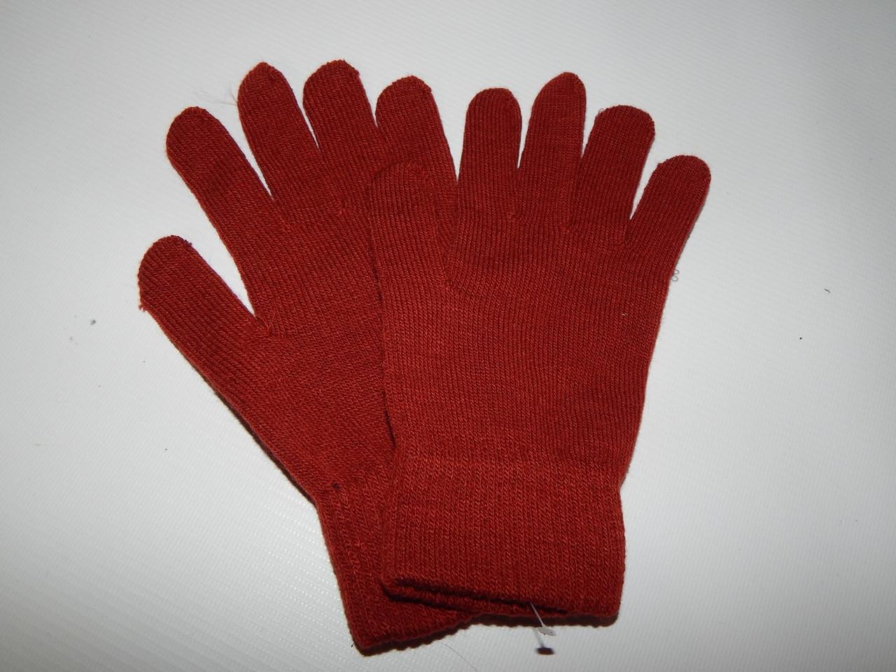 Перчатки женские трикотажные р.S (6) 057PGZ
