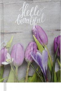 """Ежедневник """"Buromax"""" А5 288 страниц """"Romantic"""" фиолет н\д"""