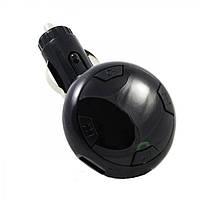 FM модулятор Q8 Bluetooth USB AUX MicroSD трансмиттер Черный (45548)