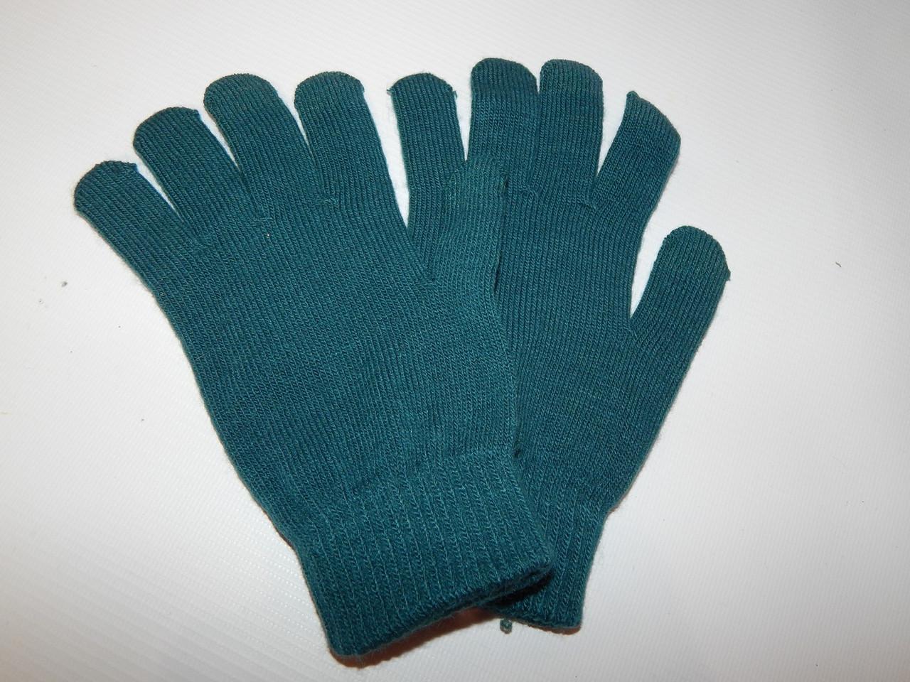 Перчатки женские трикотажные р.S (6) 060PGZ
