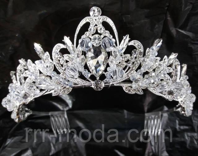 Бижутерия RRR свадебные тиары, короны, диадемы оптом.