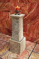 Фонтан из натурального камня