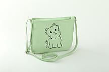 Женская сумка Kotico Собачка Светло-зеленый (SM_300_fly_a/1)