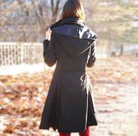Осеннее женское пальто. Модель 18228, фото 2