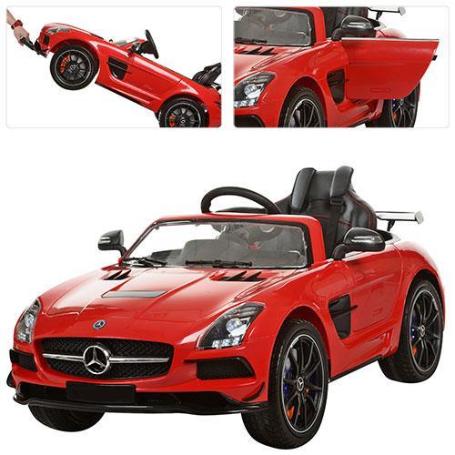 Детский электромобиль Mercedes M 2760 EBRL-3 - КРАСНЫЙ- купить оптом