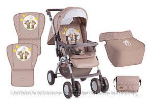 Детская коляска COMBI BEIGE DAISY BEARS +MAMA BAG