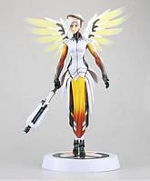 Статуэтка Ангела Циглер Овервотч Overwatch Mercy Statue 30см OW 56
