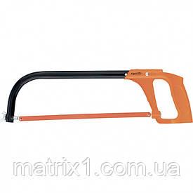 Ножовка по металлу, 250-300 мм, металлическая ручка// SPARTA