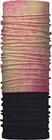 Зимовий бафф Бандана-трансформер двошаровий Чорний з перламутровим (ZBT-2f-086-1)