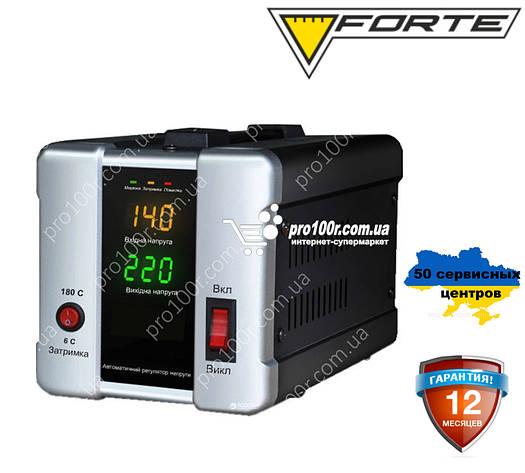 Стабилизатор напряжения Forte HDR-1000, фото 2