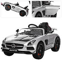 Детский электромобиль Mercedes-Benz M 2760 EBLRS-11-2: 2.4G. EVA-колеса,-СЕРЕБРО КАРБОН ПОКРАСКА- купить оптом, фото 1