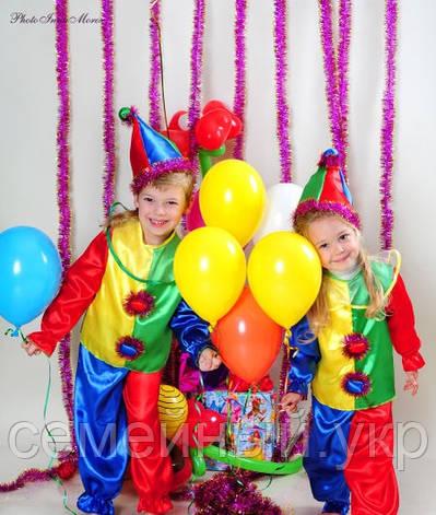 Детский новогодний костюм Петрушки, фото 2