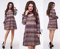 Платье трикотажное в расцветках 26123, фото 1