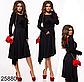 Вечернее платье элегантное темно-серый 825881, фото 2