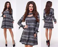 Платье трикотажное в расцветках 26124, фото 1