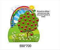 Дерево класу нуш з яблуками
