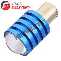 LED 1156 BA15S P21W лампа в автомобиль, CREE Q5 7Вт