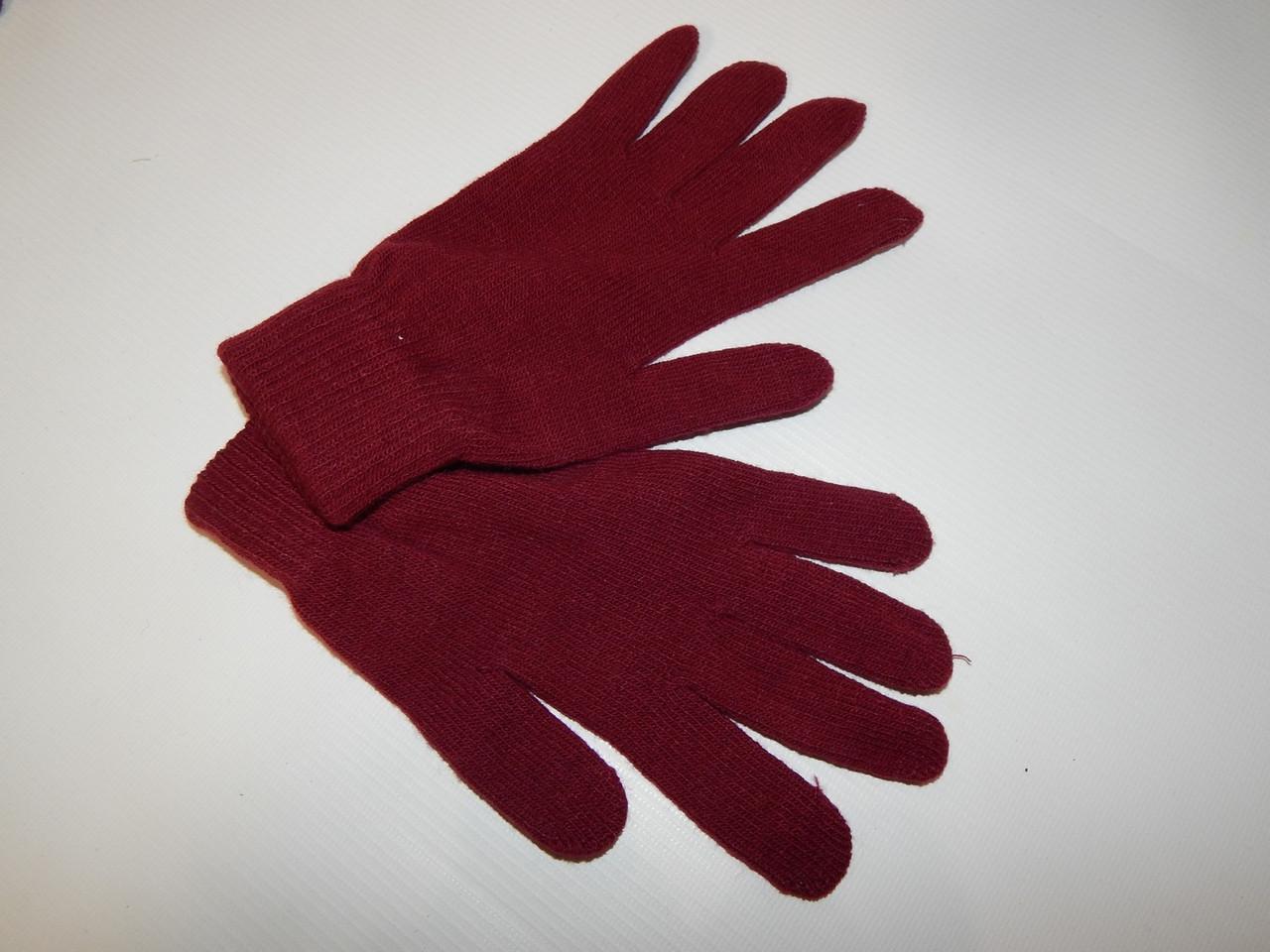Перчатки женские трикотажные р.М (6) 063PGZ