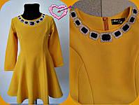 Красивое платье для девочки,Мод.0623-1,Декор дорогие камни,Рост:116см,122см,128см,4 цвета, фото 3