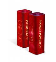 Сладкий корпоративный подарок из конфет, Новогодний тубус, вес 514 гр, 36 конфет