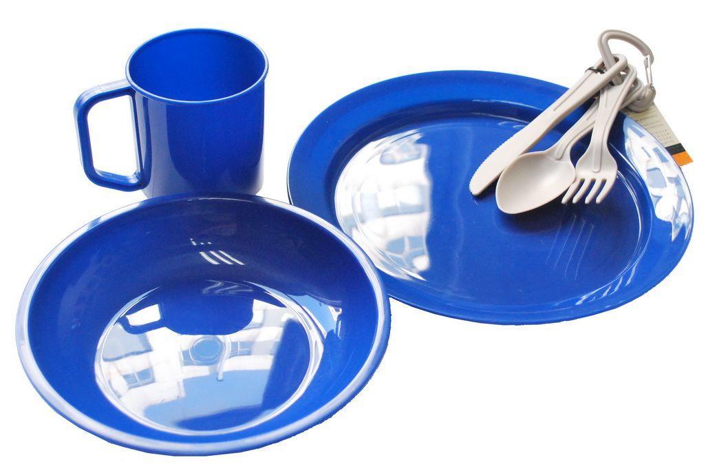 Набор посуды пластиковой Tramp (TRC-047)