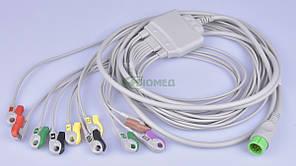 Кабель ЭКГ 10 электродов