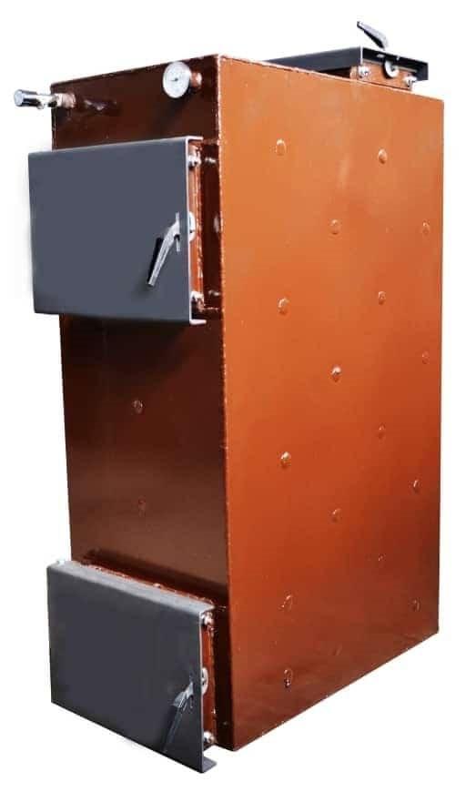 """Шахтный котел Energy Wood (Холмова) длительного горения  с фронтальной загрузкой """"Стандарт"""" 25 кВт"""