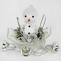 Декоративная новогодняя композиция C 30560 Снеговик