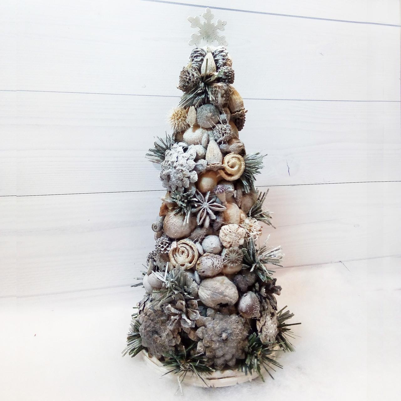 2c7585f2c4c9 Новогодняя елка в эко-стиле из природных материалов Подарки ручной работы  на новый год -