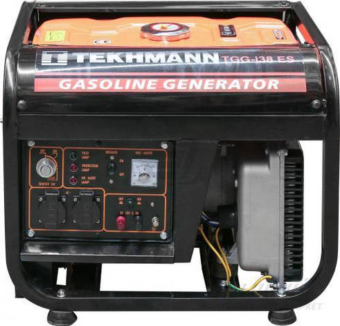 Бензиновий генератор Tekhmann TGG-i38 ES (інвентарний), фото 2