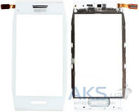 Сенсор (тачскрин) для Nokia X7-00 with frame Original White