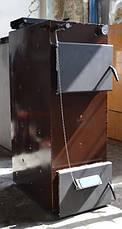 """Шахтный пиролизный котел Energy Wood (Холмова) с фронтальной загрузкой """"Премиум"""" 25 кВт, фото 3"""