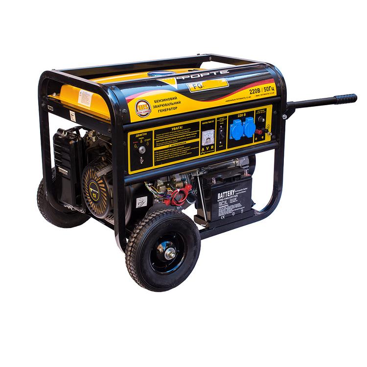 Генератор бензиновий Forte 9000Е