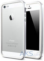 Чехол SGP Neo Hybrid EX Snow Series Apple iPhone 5, iPhone 5S, iPhone SE Satin Silver (SGP09519), фото 1