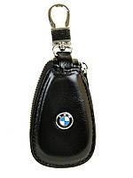 Кошелек Ключница Авто кожа F633 BMW black
