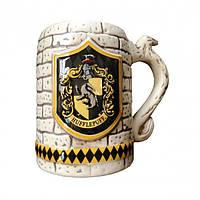 Кружка Geek Land керамическая 3D ретро Harry Potter Hufflepuff Гарри ПоттераХаффлпафф HP 6.099